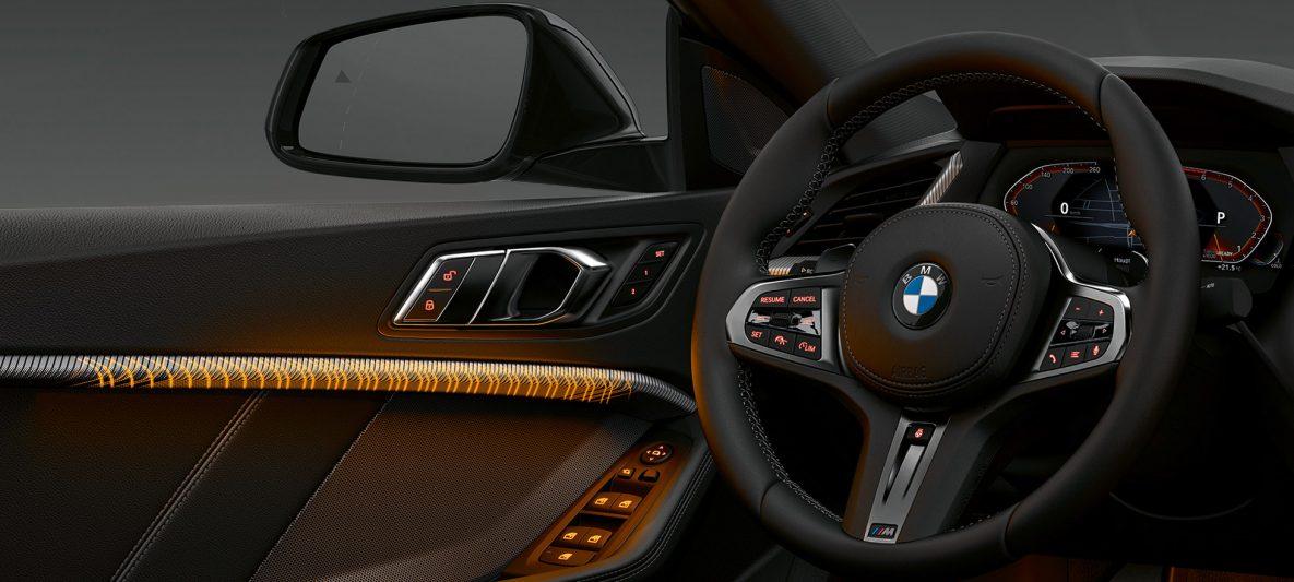 Illuminierte Interieurleisten BMW 2er Gran Coupé F44 Interieur