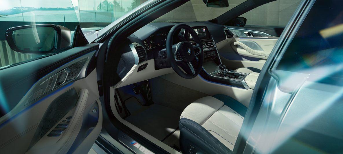 Cockpit BMW M850i xDrive Gran Coupé Innenraum G16 2019