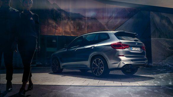 BMW X3 M Heckschürze