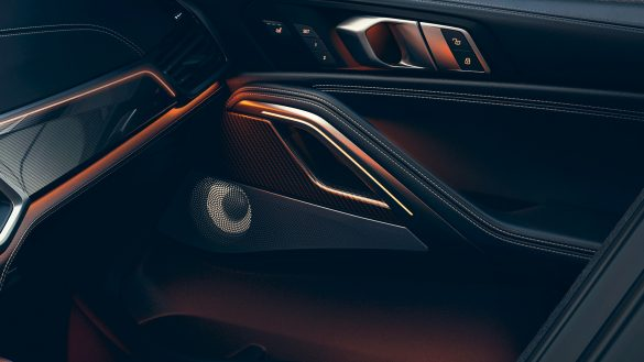 BMW X6 Surround Sound