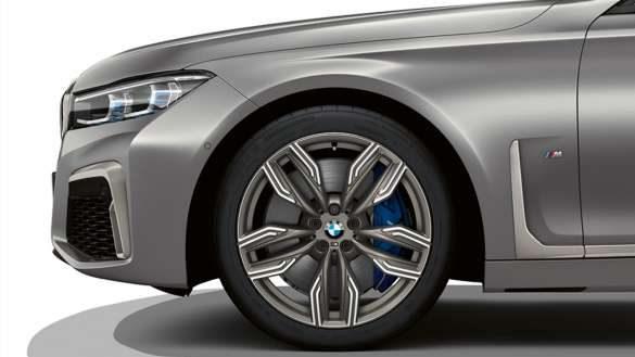 BMW M760Li xDrive Limousine 20'' M Leichtmetallräder Doppelspeiche 760 M mit Mischbereifung