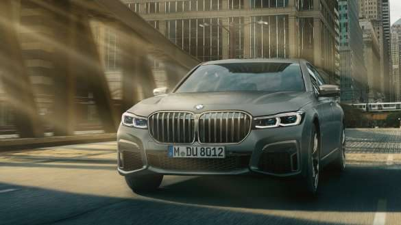 BMW M760Li xDrive Front