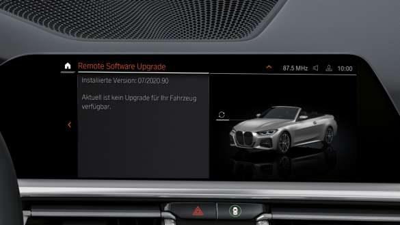 BMW M440i xDrive Remote Software Upgrade